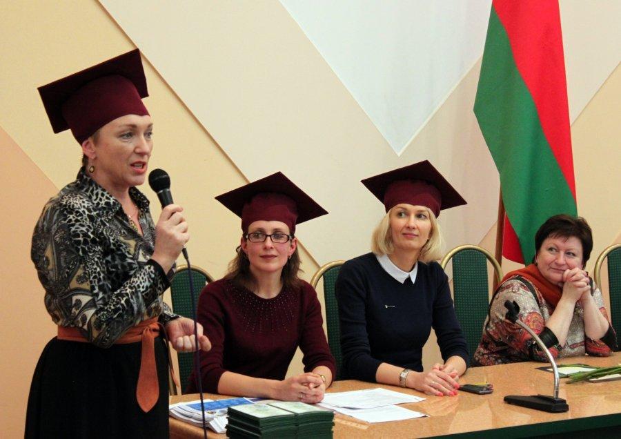 Вручение дипломов о переподготовке государственного образца  Галлерея