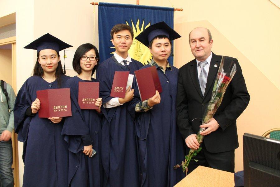 Вручение дипломов выпускникам магистратуры БГПУ Галлерея